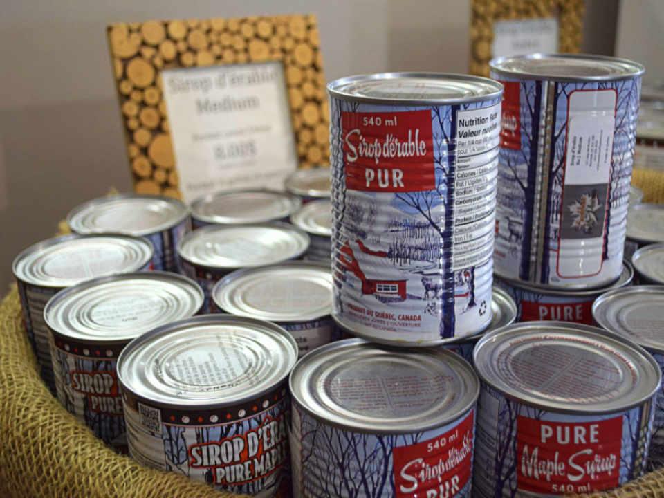 Restaurant cabane à sucre alimentation Érablière aux Petits Plaisirs Warwick Québec Ulocal produit local achat local