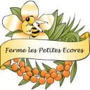 beekeeping logo ferme les petites écores pointe-fortune quebec canada ulocal local products local purchase local produce locavore tourist