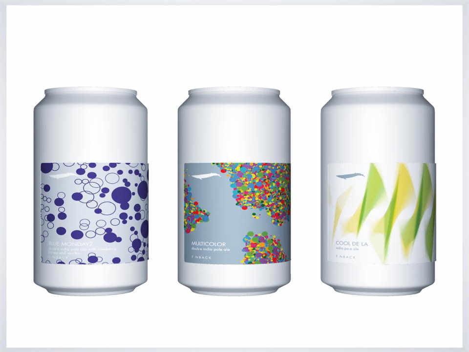 Microbrasserie canette de bière Finback Brewery Ridgewood New York États-Unis Ulocal produit local achat local