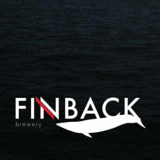 Microbrewery logo Finback Brewery Ridgewood New York United States Ulocal Local Product Local Purchase