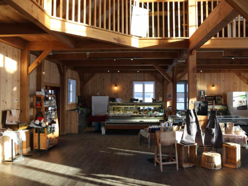 Boutique d'aliments Fromagerie des Grondines Québec Ulocal produit local achat local