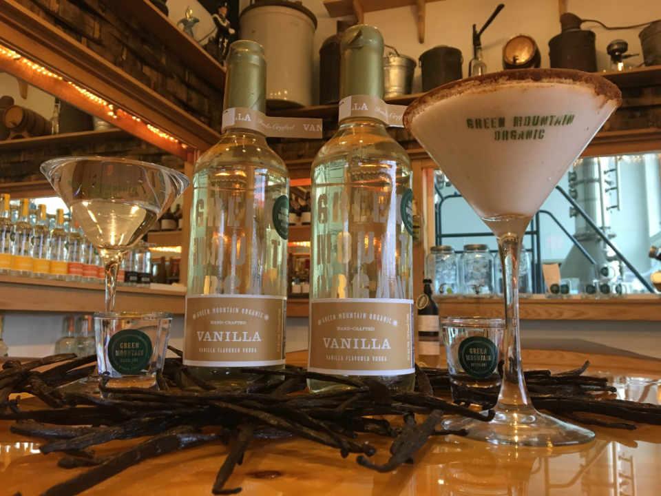 Alcool distillerie boutique Green Mountain Distillers Morristown Vermont États-Unis Ulocal produit local achat local