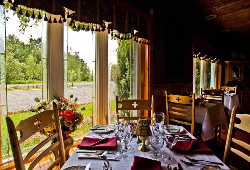Restaurant alimentation Restaurant La Maison Chez Nous Granby Québec Ulocal produit local achat local cuisine régionale