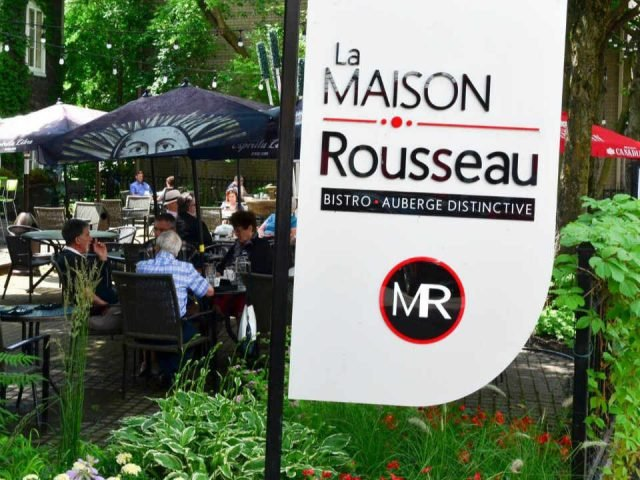 Food Restaurant La Maison Rousseau Montmagny Quebec Ulocal local product local purchase