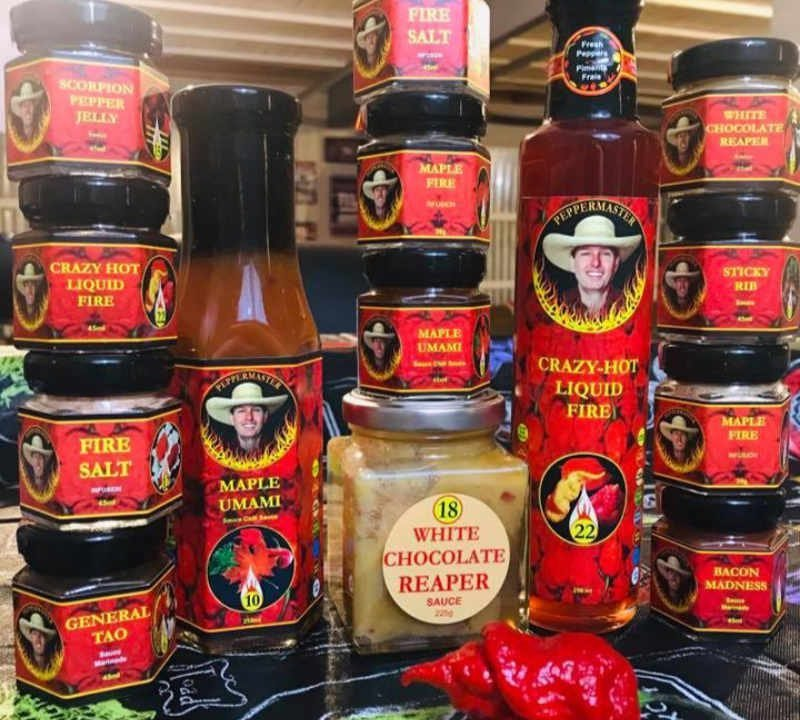 Peppers hot peppermaster food store Rigaud Quebec Ulocal local product local purchase