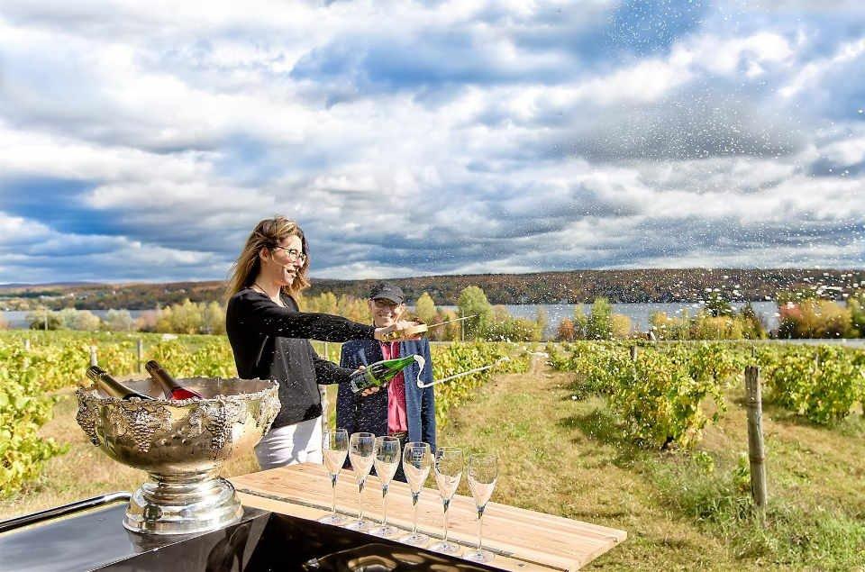 Vignoble alcool alimentation Vignoble Le Cep d'Argent Magog Ulocal produit local achat local