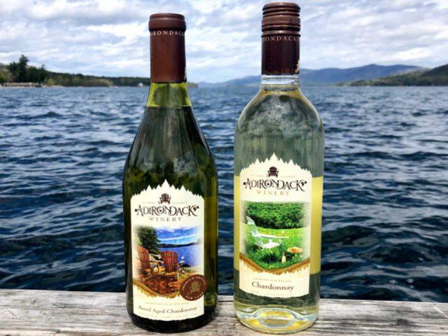 Vignoble bouteilles de vin Adirondack Winery Lake George New York États-Unis Ulocal produit local achat local