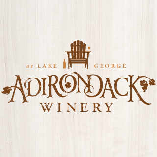 Vignoble logo Adirondack Winery Lake George New York États-Unis Ulocal produit local achat local