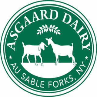 Cheese logo Asgaard Farm & Dairy At Sand Forks New York United States Ulocal Local Product Buy Local
