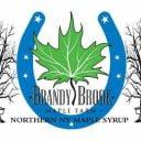 Cabane à sucre logo Brandy Brook Maple Farm Ellenburg Center New York États-Unis Ulocal produit local achat local