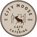 Restaurant logo City Moose Café & Catering Nashua New Hampshire États-Unis Ulocal produit local achat local