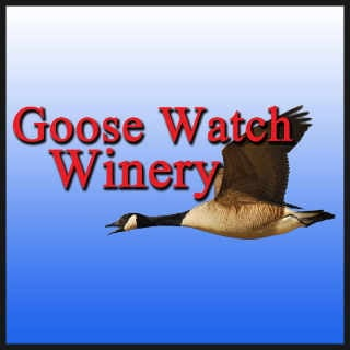 Vignoble logo Goose Watch Winery Romulus New York États-Unis Ulocal produit local achat local