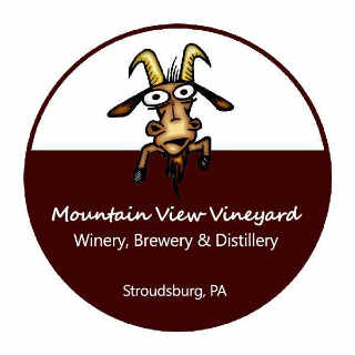 Vignoble logo Mountain View Vineyard, Winery, Brewery & Distillery Stroudsburg Pennsylvanie États-Unis Ulocal produit local achat local