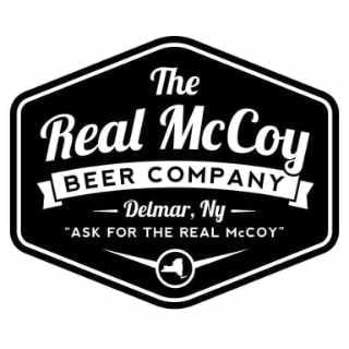 Microbrasserie logo The Real McCoy Beer Co. Delmar New York États-Unis Ulocal produit local achat local