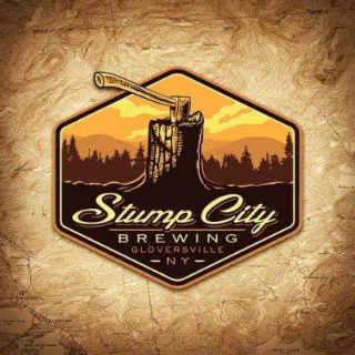 Microbrasserie logo Stump City Brewing Gloversville New York États-Unis Ulocal produit local achat local