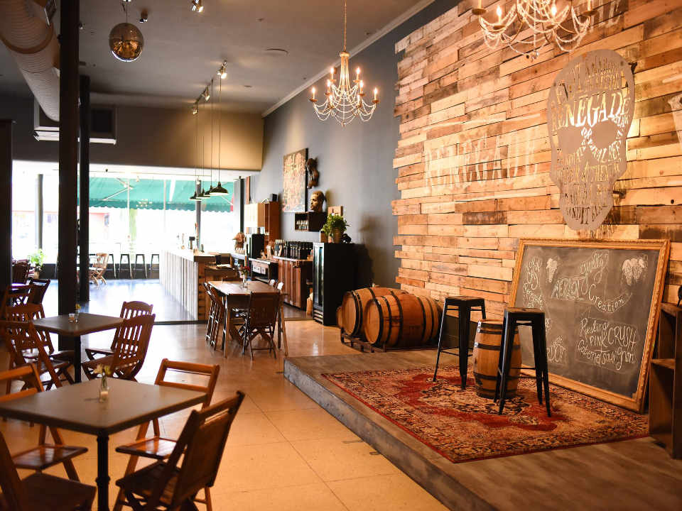 Vineyard Tasting room The Renegade Winery Tannersville Pennsylvania United States Ulocal Local Product Local Purchase