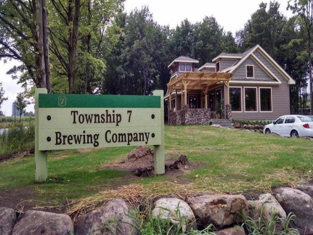 Microbrasserie brasserie Township 7 Brewing Co. Dickinson Center New York États-Unis Ulocal produit local achat local