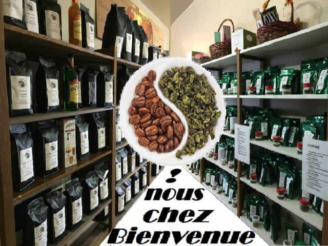 Café et thé boutique Les Jean du Café Les Coteaux Québec ulocal produit local achat local