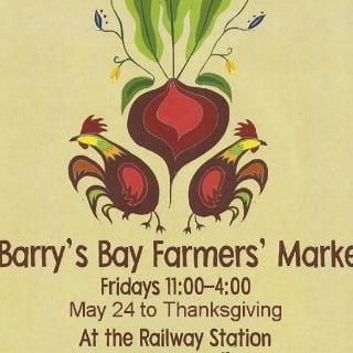 marché public logo barry's bay farmers market barry's bay ontario canada ulocal produits locaux achat local produits du terroir locavore touriste