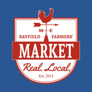 public markets logo bayfield farmers market bayfield ontario canada ulocal local products local purchase local produce locavore tourist