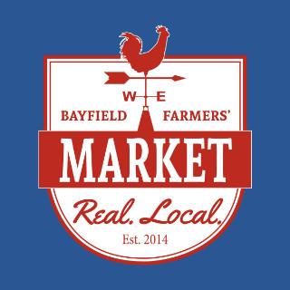 marché public logo bayfield farmers market bayfield ontario canada ulocal produits locaux achat local produits du terroir locavore touriste