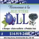 autocueillette Bleuetière L&L Saint-Antoine-Abbé Ulocal produit local achat local