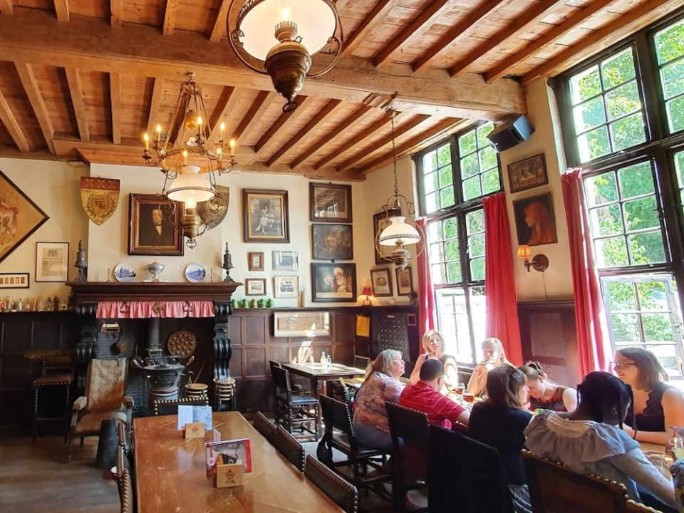 Restaurant alimentation Café Vlissinghe Brugge Belgique Ulocal produit local achat local