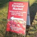 marché public logo clarington farmers market newcastle ontario canada ulocal produits locaux achat local produits du terroir locavore touriste