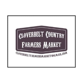 public markets logo cloverbelt country farmers market dryden ontario canada ulocal local products local purchase local produce locavore tourist