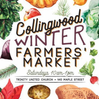 public markets logo collingwood winter farmers market collingwood ontario canada ulocal local products local purchase local produce locavore tourist