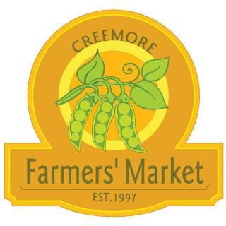 public markets logo creemore farmers market creemore ontario canada ulocal local products local purchase local produce locavore tourist