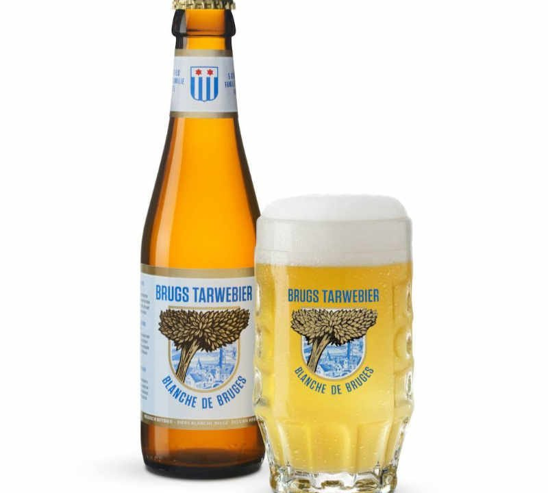 Microbrewery alcoholic restaurant Brasserie De Halve Maan Brugge Belgium Ulocal local product local purchase