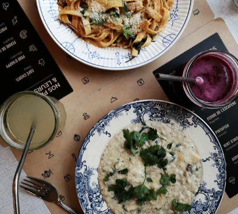 Restaurant alimentation végétaliens Entre Nous Belgique Ulocal produit local achat local produit du terroir