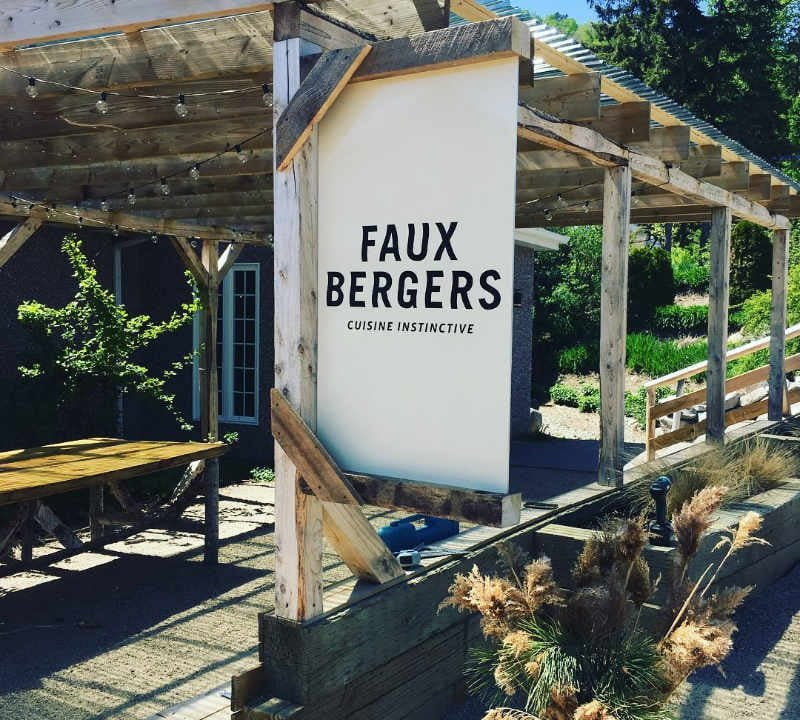 Restaurant food local products goat's milk Baie-Saint-Paul Quebec Ulocal local product local purchase