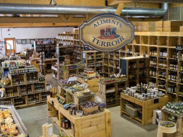 Farm grocery local products bakery butcher alcohol microbrewery Ferme Guyon Ulocal local product local purchase