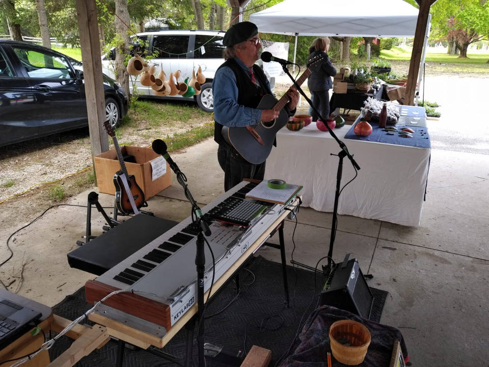 public markets live music today by matt bates flesherton and district farmers market flesherton ontario canada ulocal local products local purchase local produce locavore tourist