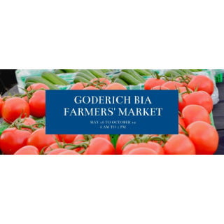 public markets logo goderich bia farmers market goderich ontario canada ulocal local products local purchase local produce locavore tourist