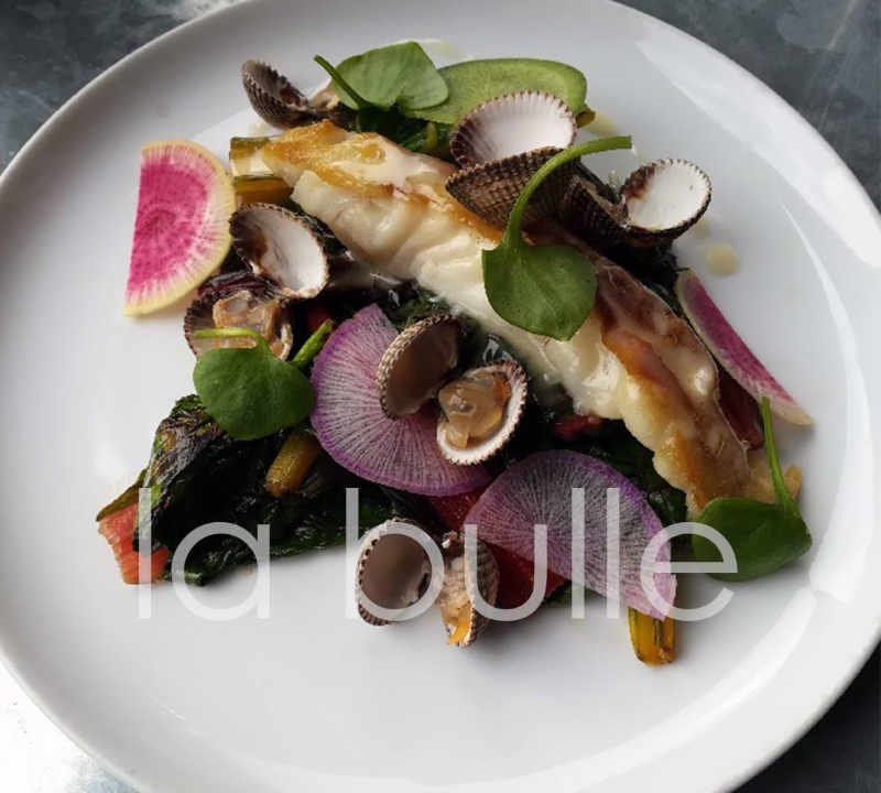 Bistro restaurant La Bulle Paris France Ulocal local product local purchase