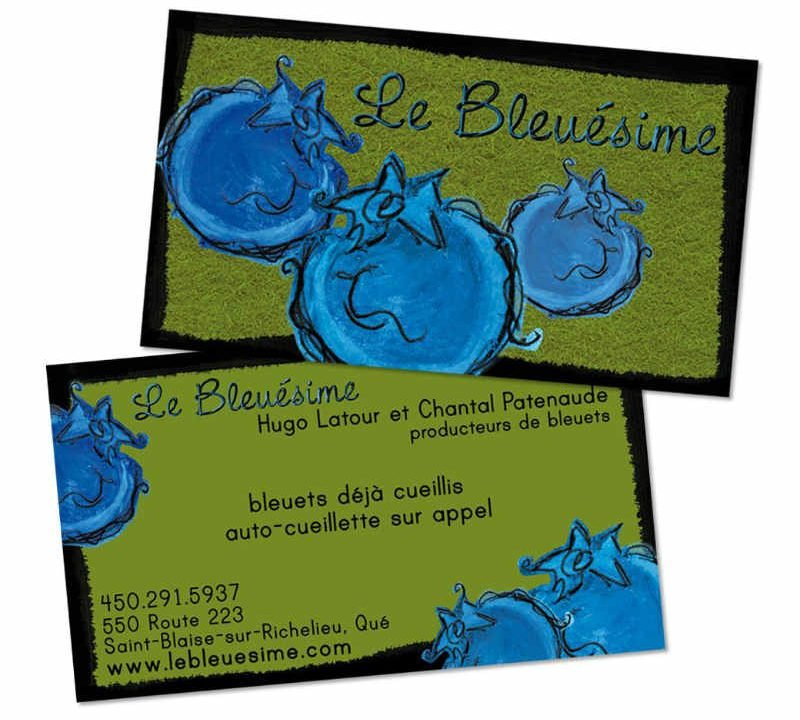 Pick your own blueberry Saint-Blaise-sur-Richelieu Ulocal local product local purchase