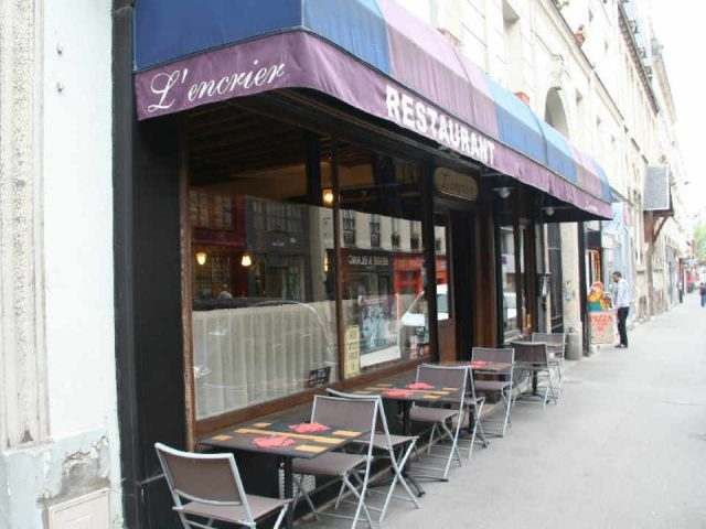 Restaurant cooking L'Encrier Paris France Ulocal local product local purchase local product