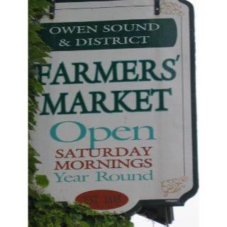 public markets logo owen sound famers market owen sound ontario canada ulocal local products local purchase local produce locavore tourist