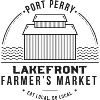 marché public logo port perry lakefront farmers market port perry ontario canada ulocal produits locaux achat local produits du terroir locavore touriste