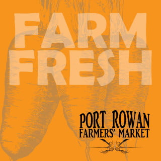 public markets logo port rowan farmers market port rowan ontario canada ulocal local products local purchase local produce locavore tourist