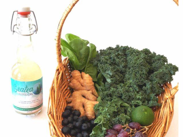Algae Organic Seaweed Seatea Kombucha Lake-Beauport Ulocal Local Product Local Purchase