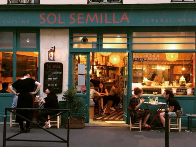 Organic food restaurant Sol Semilla Paris France Ulocal local product local purchase