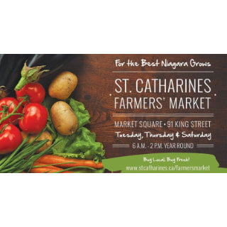 public markets logo st catharines farmers market st catharines ontario canada ulocal local products local purchase local produce locavore tourist