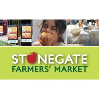 public markets logo stonegate farmers market etobicoke ontario canada ulocal local products local purchase local produce locavore tourist