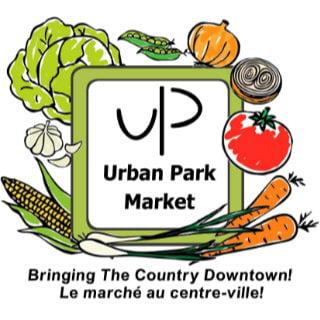 public markets logo urban park market timmins ontario canada ulocal local products local purchase local produce locavore tourist