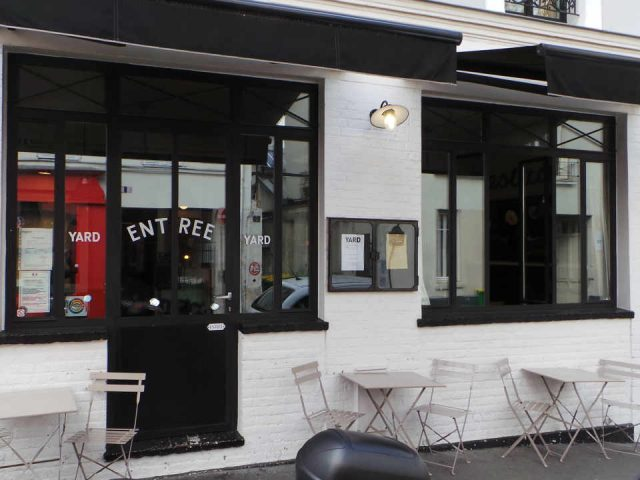 Restaurant alcool alimentation YARD Bistro France Paris Ulocal produit local achat local