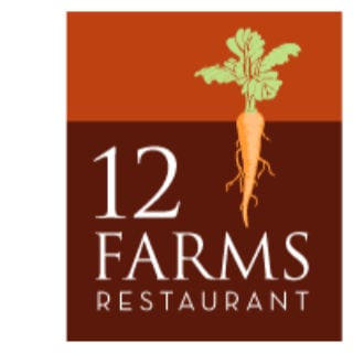 restaurant logo 12 farms restaurant hightstown new jersey united states ulocal local products local purchase local produce locavore tourist